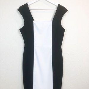 Worthington Black & White Dress. Career. Size 10